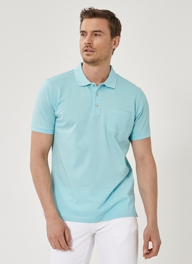 Beymen Business Regular Fit Polo Tişört 4B4819200073 Yeşil